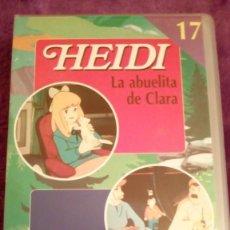 Series de TV: HEIDI/MARCO 17 VHS. Lote 124644751
