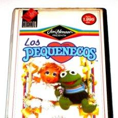 Series de TV: LOS PEQUEÑECOS VOLUMEN 1 (1988) - JIM HENSON - DIBUJOS ANIMADOS VHS IMPOSIBLE DE ENCONTRAR. Lote 125957443