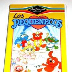 Series de TV: LOS PEQUEÑECOS VOLUMEN 4 (1988) - JIM HENSON - DIBUJOS ANIMADOS VHS IMPOSIBLE DE ENCONTRAR. Lote 125957527