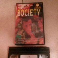 Series de TV: SOCIETY - BRIAN YUZNA - UNCUT - VHS. Lote 126054911