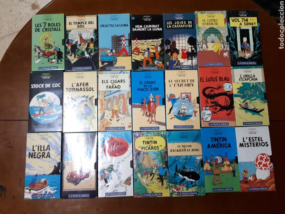 Series de TV: Las aventuras de Tintin VHS coleccion completa - Foto 2 - 220805600