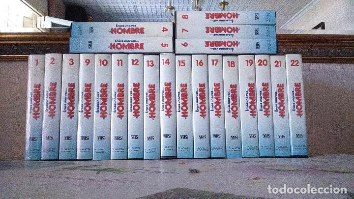 ERASE UNA VEZ EL HOMBRE (22 DE 26) (Series TV en VHS )