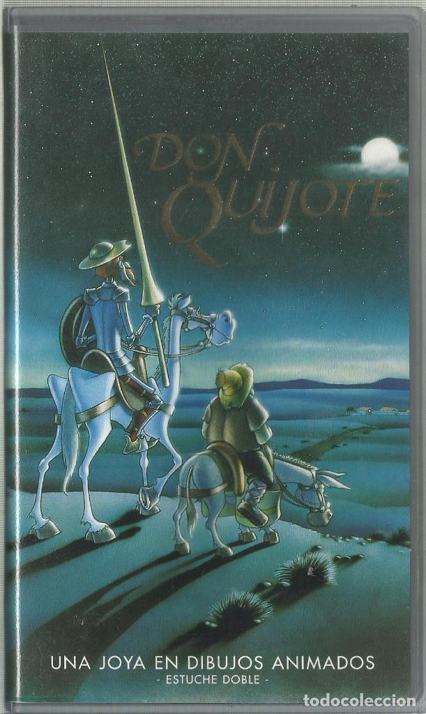 DON QUIJOTE DE LA MANCHA 1978 (DIBUJOS) (Series TV en VHS )