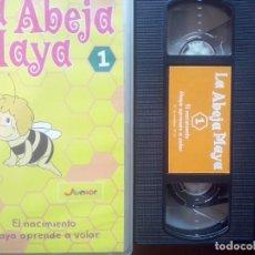 "Series de TV: LOTE 6 VHS ""LA ABEJA MAYA"" // INFANTIL / JUVENIL / DIBUJOS ANIMADOS / VINTAGE / PLANETA JUNIOR. Lote 130515538"