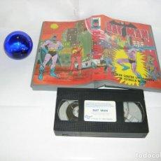 Serie di TV: VHS BATMAN CONTRA LOS HOMBRES DE ESTRELLA NEGRA. Lote 131968826