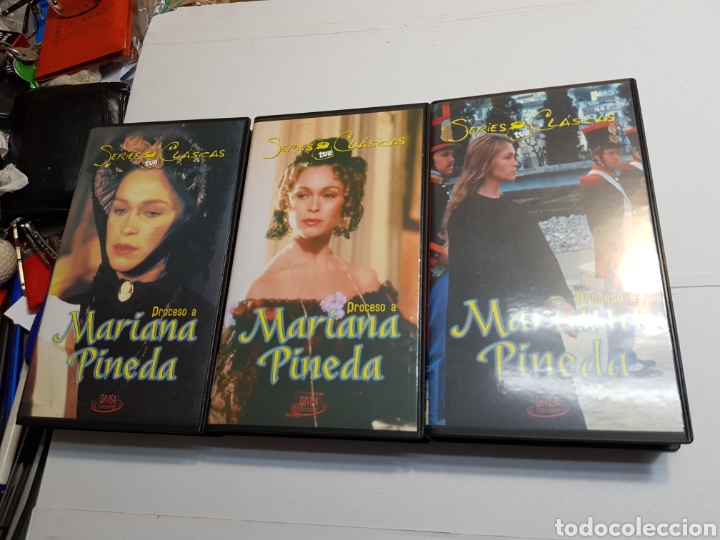 VHS ORIGINAL *PROCESO A MARIANA PINEDA* (Series TV en VHS )