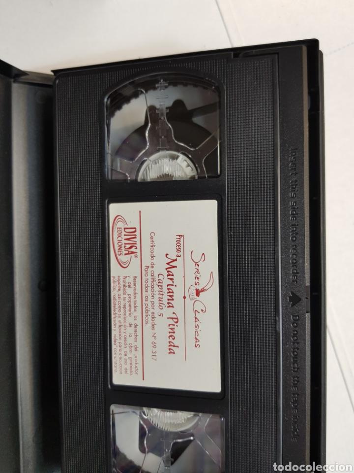 Series de TV: VHS original *Proceso a Mariana Pineda* - Foto 3 - 133986763