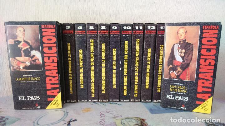 LA TRANSICION ESPAÑOLA 13 VHS COMPLETA (Series TV en VHS )