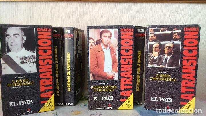 Series de TV: LA TRANSICION ESPAÑOLA 13 VHS COMPLETA - Foto 2 - 134197030