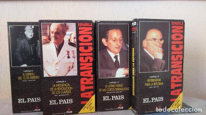 Series de TV: LA TRANSICION ESPAÑOLA 13 VHS COMPLETA - Foto 3 - 134197030