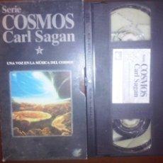 Series de TV: COSMOS, CARL SAGAN, VHS, #2 // ASTRONOMÍA / UNIVERSO / ASTROFÍSICA / CONSCIENCIA / ALIENS / UFOLOGÍA. Lote 134449458