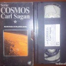 Series de TV: COSMOS, CARL SAGAN, VHS, #4 // ASTRONOMÍA / UNIVERSO / ASTROFÍSICA / ASTROLOGÍA / MARTE / PLANETAS. Lote 134450006
