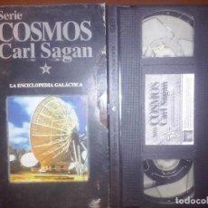 Series de TV: COSMOS, CARL SAGAN, VHS, #9 // ASTRONOMÍA UNIVERSO ASTROFÍSICA ALIENS OVNIS STEPHEN HAWKING UFOLOGÍA. Lote 134451014
