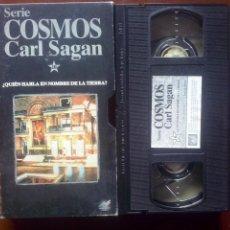 Series de TV: COSMOS, CARL SAGAN, VHS, #10 // ASTRONOMÍA / UNIVERSO / ASTROFÍSICA / CONSCIENCIA / EVOLUCIÓN. Lote 134451634