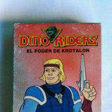 Series de TV: DINO RIDERS EL PODER DE KROTALON MARVEL VHS. Lote 137507546