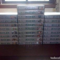 """Series de TV: SERIE """"RAÍCES"""", COLECCIÓN VHS COMPLETA // ALEX HALEY / KUNTA KINTE / GENERACIONES / HOMBRE RICO. Lote 138690002"""