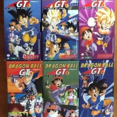 Series de TV: DRAGÓN BALL GT. VHS. SEIS CINTAS, SERIE EN VIDEO EDITADA HOBBY CONSOLAS. MUY BUEN ESTADO. Lote 138839530