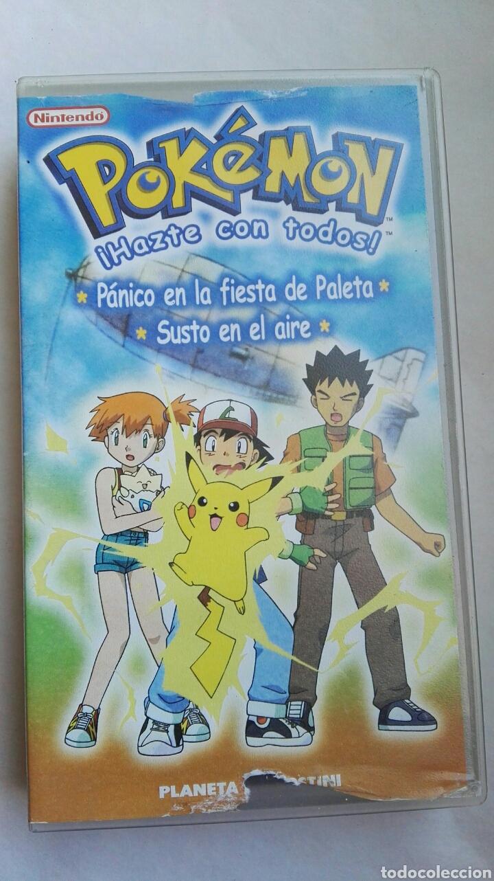 POKEMON HAZTE CON TODOS VHS PÁNICO EN LA FIESTA DE PALETA (Series TV en VHS )