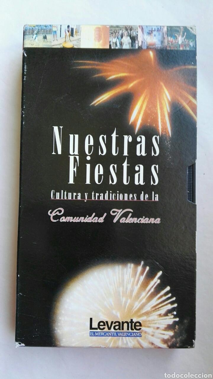 NUESTRAS FIESTAS CULTURA Y TRADICIONES DE LA COMUNITAT VALENCIANA VHS (Series TV en VHS )