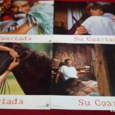 Series de TV: SU COARTADA. MEDIDAS 34X24CM. 11 UNIDADES. Lote 143565946