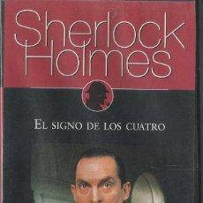 Series de TV: SHERLOCK HOLMES: EL SIGNO DE LOS CUATRO . Lote 143687294