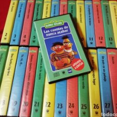 Series de TV: COLECCIÓN BARRIO SÉSAMO. 30 VHS.. Lote 144452060
