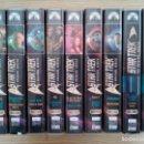 Series de TV: STAR TREK - THE ORIGINAL SERIES - TEMPORADA 1-2-3-4 - 36 VHS. Lote 145934074