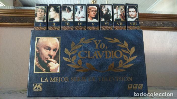 YO CLAUDIO VHS (Series TV en VHS )