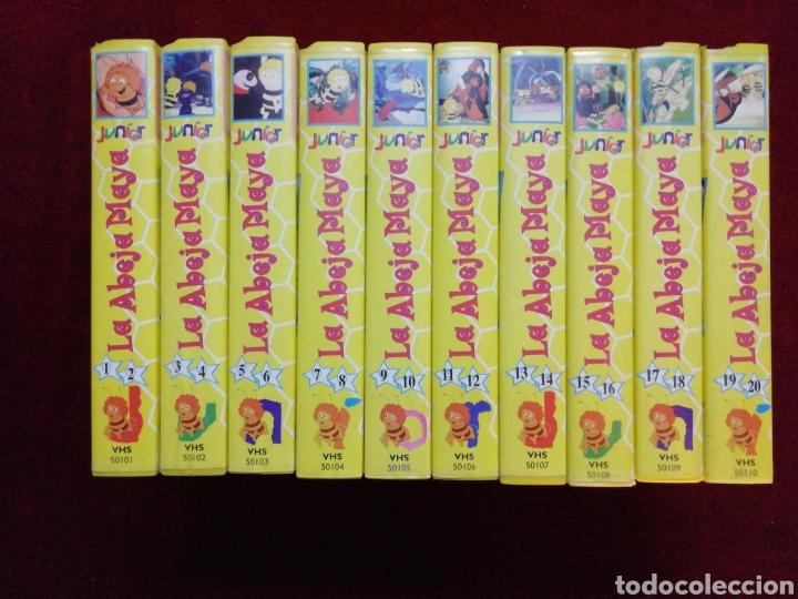 COLECCIÓN LA ABEJA MAYA. 10 VHS CON 20 EPISODIOS. (Series TV en VHS )