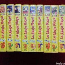 Series de TV: COLECCIÓN LA ABEJA MAYA. 10 VHS CON 20 EPISODIOS.. Lote 146352212