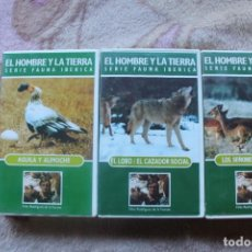 Series de TV: EL HOMBRE Y LA TIERRA SERIE FAUNA IBERICA. Lote 146754530