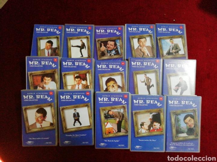 Series de TV: Colección Mr. Bean. 14 VHS de episodios más imágenes ineditas de la película - Foto 2 - 147478113