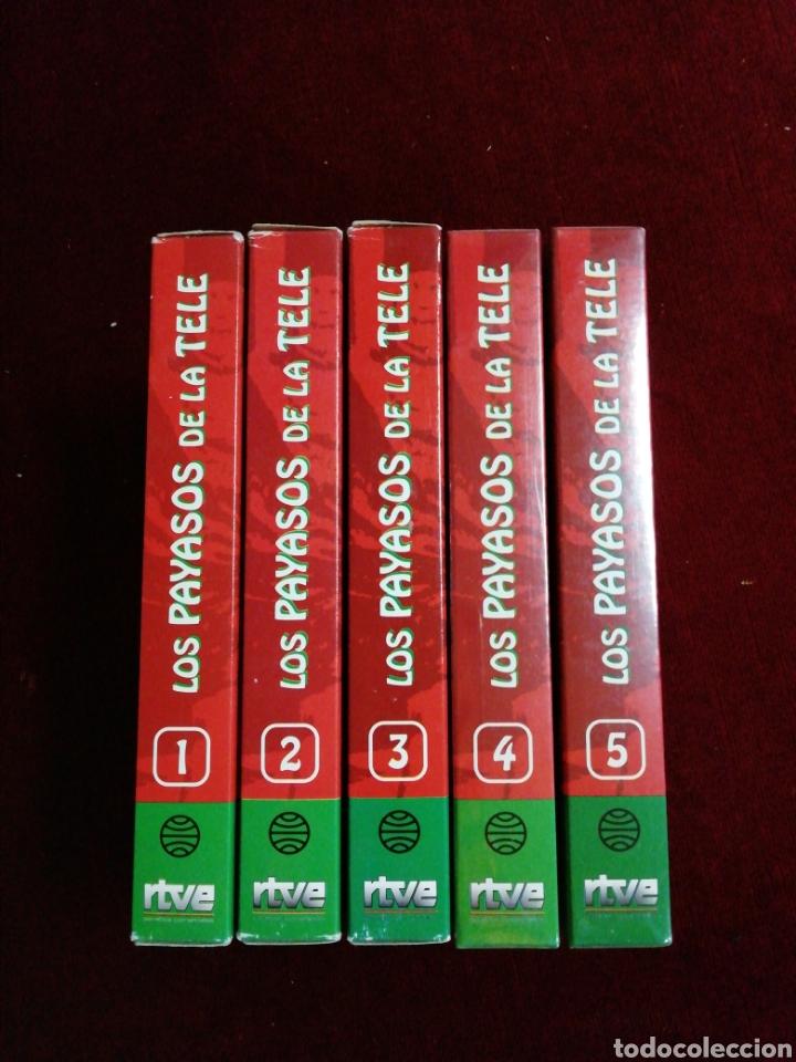 LOS PAYASOS DELA TELE. COLECCIÓN 5 VHS. NÚMERO 4 Y 5 PRECINTADOS. (Series TV en VHS )