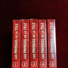 Series de TV: LOS PAYASOS DELA TELE. COLECCIÓN 5 VHS. NÚMERO 4 Y 5 PRECINTADOS.. Lote 147481536
