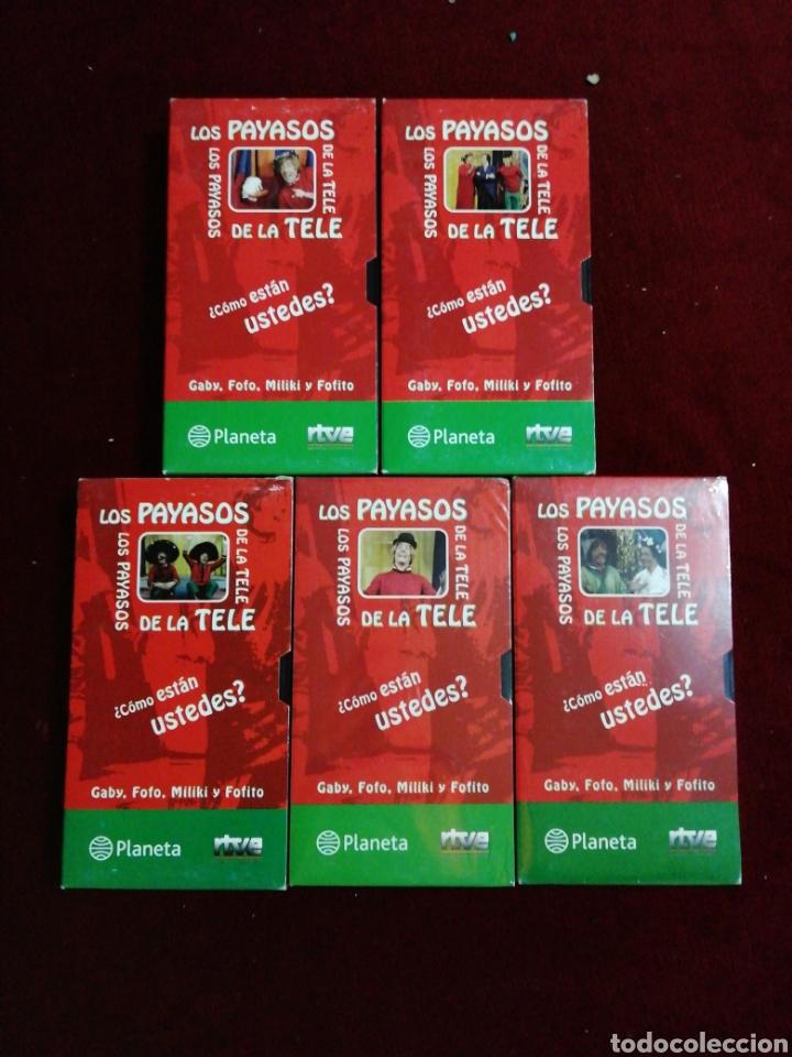 Series de TV: Los Payasos dela tele. Colección 5 VHS. Número 4 y 5 precintados. - Foto 2 - 147481536
