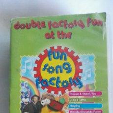 Series de TV: FUN SONG FACTORY 2 VHS VIDEO. Lote 149402781