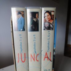 Series de TV: VHS. GRANDES SERIES DE TVE. JUNCAL (SERVA FILMS PARA RTVE, 1994). Lote 149627010