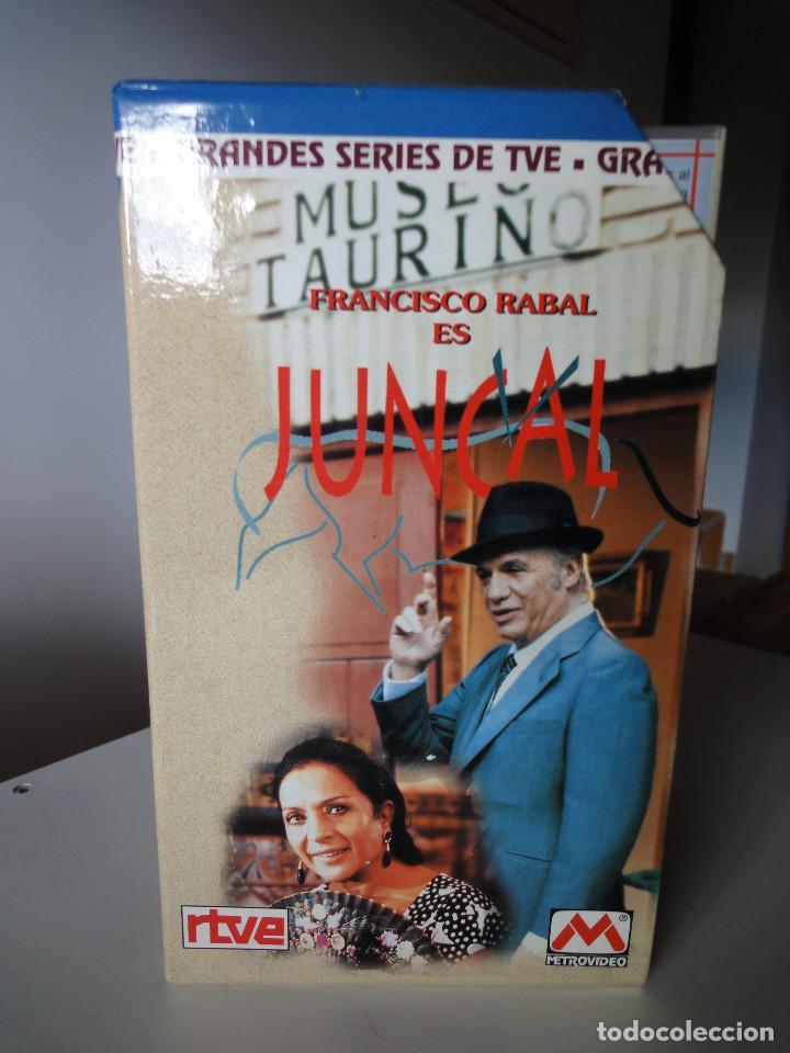 Series de TV: VHS. Grandes series de TVE. Juncal (Serva Films para RTVE, 1994) - Foto 2 - 149627010