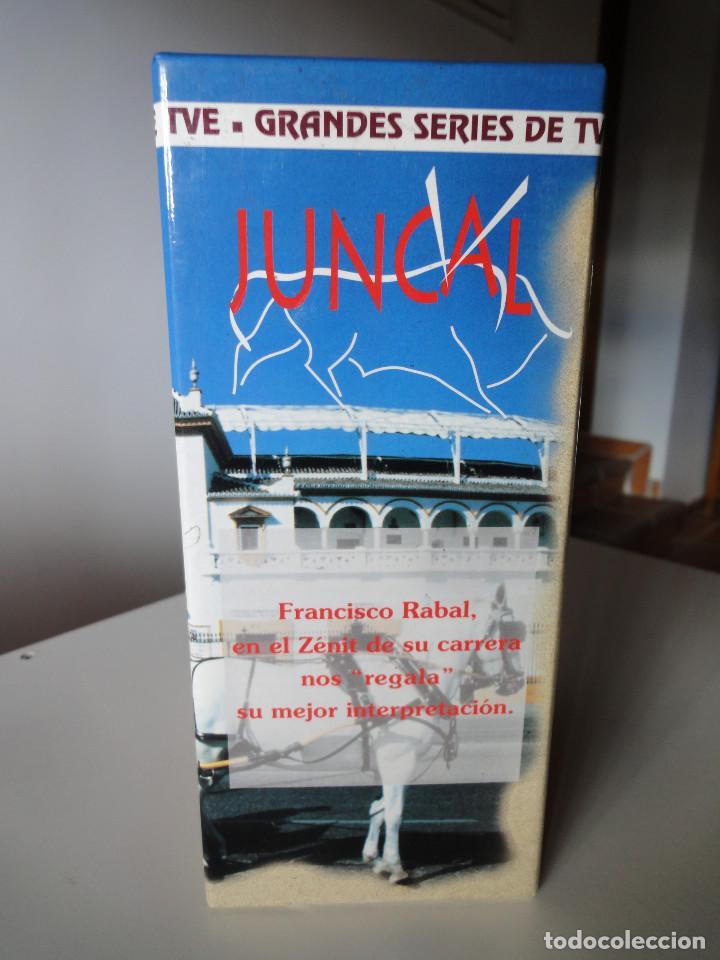 Series de TV: VHS. Grandes series de TVE. Juncal (Serva Films para RTVE, 1994) - Foto 3 - 149627010