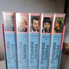 Series de TV: VHS. GRANDES SERIES DE TVE. FORTUNATA Y JACINTA (METROVIDEO, 1994). Lote 149627398