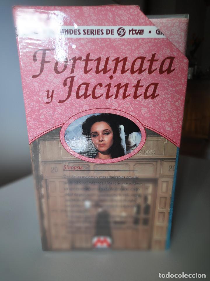 Series de TV: VHS. Grandes series de TVE. Fortunata y Jacinta (Metrovideo, 1994) - Foto 2 - 149627398