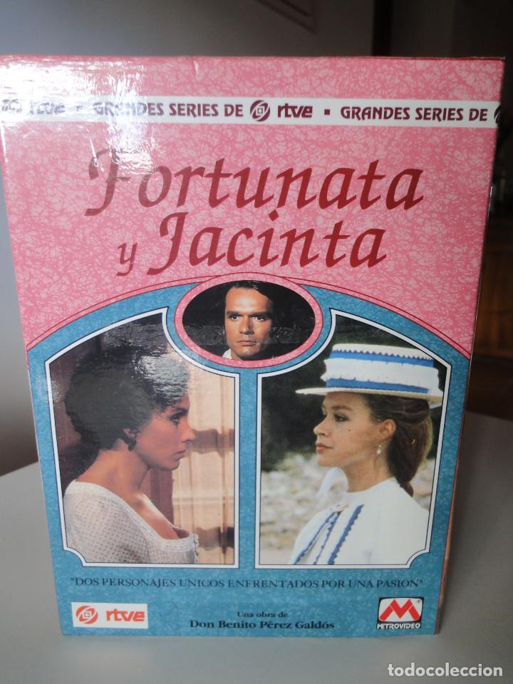 Series de TV: VHS. Grandes series de TVE. Fortunata y Jacinta (Metrovideo, 1994) - Foto 3 - 149627398
