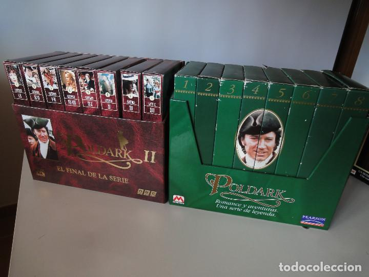 VHS. POLDARK. SERIE COMPLETA (I Y II). (PEARSON PARA BBC, 1997) (Series TV en VHS )