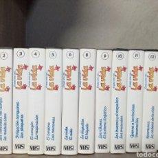 Series de TV: 13 VHS DE LA COLECCIÓN ÉRASE UNA VEZ LA VIDA. Lote 148672045