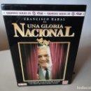 Series de TV: VHS. GRANDES SERIES DE TVE. UNA GLORIA NACIONAL (METROVIDEO PARA RTVE, 1994). Lote 150136350
