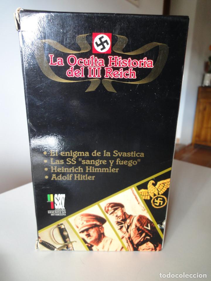 Series de TV: VHS. Serie de Documentales Historia Oculta del III Reich (SAV, 1992) - Foto 3 - 150139790