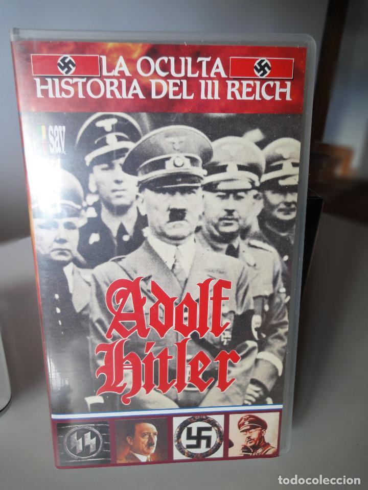 Series de TV: VHS. Serie de Documentales Historia Oculta del III Reich (SAV, 1992) - Foto 5 - 150139790