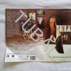Series de TV: TUBAL CARATULA VHS JULIA JANE FONDA VANESSA REDGRAVE K1. Lote 152038954