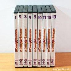 Series de TV: LOTE 10 DVD ERASE UNA VEZ EL CUERPO HUMANO PLANETA AGOSTINI: 1,2.3.4,5,6,10,11,12,13. Lote 153359150