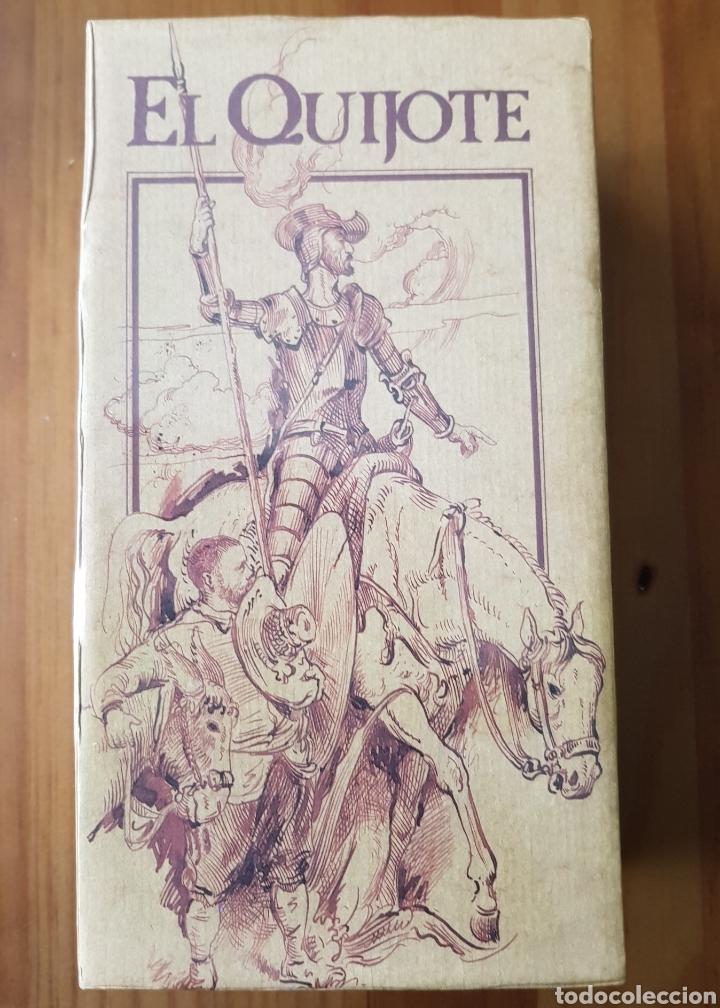 Series de TV: El Quijote. Serie de TVE. 2 vídeos VHS. A estrenar. Banco Central Hispano. - Foto 2 - 153838532